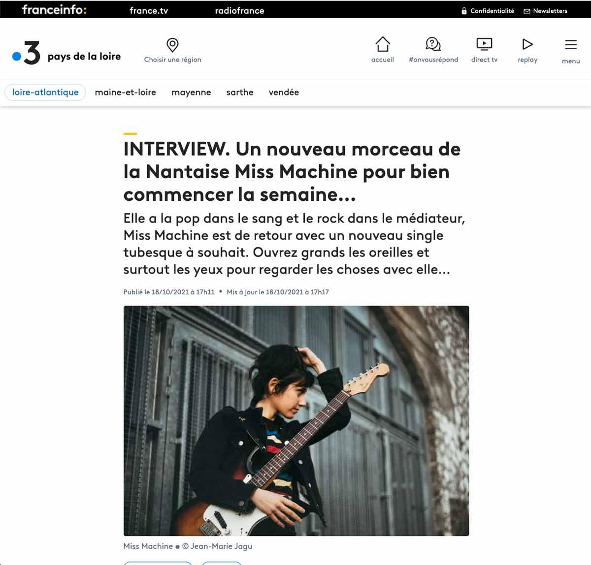 France 3 –Regarder les choses